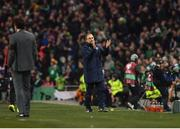 24 March 2017; Republic of Ireland manager Martin O'Neill during the FIFA World Cup Qualifier Group D match between Republic of Ireland and Wales at the Aviva Stadium in Dublin. Photo by Ramsey Cardy/Sportsfile