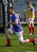 25 March 2017; Peter O'Mahony during warm up prior to the Guinness PRO12 Round 18 match between Zebre Rugby and Munster Rugby at the Stadio Sergio Lanfranchi in Parma, Italy. Photo by Roberto Bregani/Sportsfile
