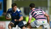 25 March 2017; Luke McGrath of Leinster in action against Steven Shingler of Cardiff Blues during the Guinness PRO12 Round 18 game between Leinster and Cardiff Blues at the RDS Arena in Ballsbridge, Dublin. Photo by Ramsey Cardy/Sportsfile
