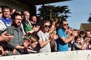 25 March 2017; Cork City supporters applaud during the 5th minute in tribute to the late Ryan McBride of Derry FC during the SSE Airtricity League Premier Division game between Cork City and Dundalk at Turner's Cross in Cork. Photo by Diarmuid Greene/Sportsfile