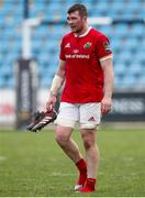 25 March 2017; Peter O'Mahony of Munster after the Guinness PRO12 Round 18 match between Zebre Rugby and Munster Rugby at the Stadio Sergio Lanfranchi in Parma, Italy. Photo by Roberto Bregani/Sportsfile