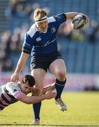25 March 2017; James Tracy of Leinster in action against Tomos Williams of Cardiff Blues during the Guinness PRO12 Round 18 game between Leinster and Cardiff Blues at RDS Arena in Ballsbridge, Dublin. Photo by Stephen McCarthy/Sportsfile