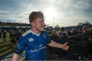 25 March 2017; James Tracy of Leinster following the Guinness PRO12 Round 18 game between Leinster and Cardiff Blues at RDS Arena in Ballsbridge, Dublin. Photo by Stephen McCarthy/Sportsfile