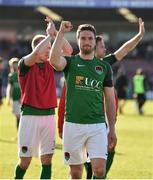 25 March 2017; Gearóid Morrissey of Cork City acknowledges supporters after the SSE Airtricity League Premier Division game between Cork City and Dundalk at Turner's Cross in Cork. Photo by Diarmuid Greene/Sportsfile