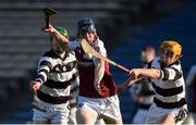25 March 2017; Ray McCormack of Our Lady's Secondary School Templemore in action against Martin Keoghan, left, and Luke Murphy of St Kieran's College during the Masita GAA All Ireland Post Primary Schools Croke Cup Final game between St. Kieran's College and Our Ladys Secondary School Templemore at Semple Stadium in Thurles, Co. Tipperary. Photo by Piaras Ó Mídheach/Sportsfile