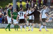 25 March 2017; Conor Clifford of Dundalk receives medical attention before being substituted during the SSE Airtricity League Premier Division game between Cork City and Dundalk at Turner's Cross in Cork. Photo by Diarmuid Greene/Sportsfile