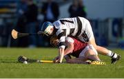 25 March 2017; Jerry Kelly of Our Lady's Secondary School Templemore in action against Killian Egan of St Kieran's College during the Masita GAA All Ireland Post Primary Schools Croke Cup Final game between St. Kieran's College and Our Ladys Secondary School Templemore at Semple Stadium in Thurles, Co. Tipperary. Photo by Piaras Ó Mídheach/Sportsfile