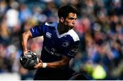 25 March 2017; Joey Carbery of Leinster during the Guinness PRO12 Round 18 game between Leinster and Cardiff Blues at the RDS Arena in Ballsbridge, Dublin. Photo by Ramsey Cardy/Sportsfile