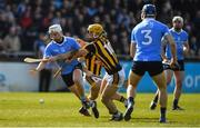 26 March 2017; Ciaran Dowling of Dublin in action against Colin Fennelly of Kilkenny during the Allianz Hurling League Division 1A Round 5 match between Dublin and Kilkenny at Parnell Park in Dublin. Photo by Brendan Moran/Sportsfile