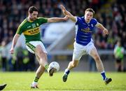 26 March 2017; Bryan Sheehan of Kerry in action against Gearoid McKiernan of Cavan during the Allianz Football League Division 1 Round 6 match between Cavan and Kerry at Kingspan Breffni Park in Cavan. Photo by Stephen McCarthy/Sportsfile