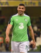 24 March 2017; Jon Walters of Republic of Ireland ahead of the FIFA World Cup Qualifier Group D match between Republic of Ireland and Wales at the Aviva Stadium in Dublin. Photo by Ramsey Cardy/Sportsfile