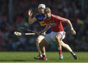 26 March 2017; Stephen McDonnell of Cork in action against Paul Flynn of Tipperary during the Allianz Hurling League Division 1A Round 5 match between Cork and Tipperary at Páirc Uí Rinn in Cork. Photo by Eóin Noonan/Sportsfile