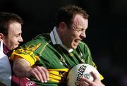 23 April 2006; Seamus Moynihan, Kerry, in action against Derek Savage, Galway. Allianz National Football League, Division 1 Final, Kerry v Galway, Gaelic Grounds, Limerick. Picture credit: David Maher / SPORTSFILE