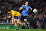 25 March 2017; Paul Flynn of Dublin in action against Tadgh O'Rourke of Roscommon during the Allianz Football League Division 1 Round 6 game between Dublin and Roscommon at Croke Park in Dublin. Photo by Brendan Moran/Sportsfile