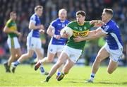 26 March 2017; Paul Geaney of Kerry in action against Killian Clarke of Cavan during the Allianz Football League Division 1 Round 6 match between Cavan and Kerry at Kingspan Breffni Park in Cavan. Photo by Stephen McCarthy/Sportsfile