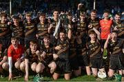 25 March 2017; John The Baptist Community School captain Paudie Maher and his team-mates celebrate after the Masita GAA All Ireland Post Primary Schools Paddy Buggy Cup Final game between John The Baptist Community School and St Mary's CBGS at Semple Stadium in Thurles, Co. Tipperary. Photo by Piaras Ó Mídheach/Sportsfile