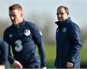 27 March 2017; Republic of Ireland manager Martin O'Neill during squad training at FAI National Training Centre, in Abbotstown, Co. Dublin. Photo by David Maher/Sportsfile