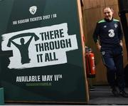 27 March 2017; Republic of Ireland manager Martin O'Neill during a press conference at FAI National Training Centre, in Abbotstown, Co. Dublin. Photo by David Maher/Sportsfile