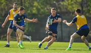 27 March 2017; Sean O'Brien, right, of Leinster passes to team-mate Garry Ringrose during a Leinster rugby squad training session at Rosemount, UCD, in Dublin. Photo by Brendan Moran/Sportsfile