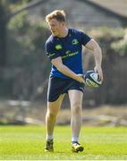 27 March 2017; James Tracy of Leinster during a Leinster rugby squad training session at Rosemount, UCD, in Dublin. Photo by Brendan Moran/Sportsfile