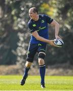 27 March 2017; Devin Toner of Leinster during a Leinster rugby squad training session at Rosemount, UCD, in Dublin. Photo by Brendan Moran/Sportsfile