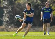 27 March 2017; Noel Reid of Leinster during a Leinster rugby squad training session at Rosemount, UCD, in Dublin. Photo by Brendan Moran/Sportsfile