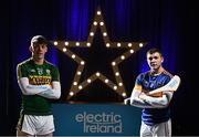 27 March 2017; Electric Ireland, proud sponsor of the GAA Minor Championships, announced the launch of the Electric Ireland GAA Minor Star Awards which aim to recognise the achievements and accolades of Minor GAA players. Launching the awards were Electric Ireland GAA Minor Star Awards selection panel of former Cork hurler Donal Óg Cusack, former Armagh footballer Oisín McConville, former Galway hurler, All Ireland Club hurling championship winning manager Mattie Kenny and Meath Senior football manager Andy McEntee. Pictured are David Clifford, captain of defending All-Ireland Minor football champions, Kerry and Paddy Cadell, captain of defending All-Ireland Minor hurling champions, Tipperary. Photo by Stephen McCarthy/Sportsfile