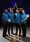 27 March 2017; Electric Ireland, proud sponsor of the GAA Minor Championships, announced the launch of the Electric Ireland GAA Minor Star Awards which aim to recognise the achievements and accolades of Minor GAA players. Launching the awards were Electric Ireland GAA Minor Star Awards selection panel, from left, Meath Senior football manager Andy McEntee, former Cork hurler Donal Óg Cusack, former Armagh footballer Oisín McConville and former Galway hurler and All Ireland Club hurling championship winning manager Mattie Kenny. Photo by Stephen McCarthy/Sportsfile