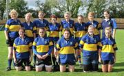 10 September 2011; The Rathdrum RFC team, back row, from left to right, Shannon Fox, Jenny Fortune, Ellen Fox, Stephanie Rahay, Mo Dowling, Lisa Cahill, Emily Ryan and Sue Brady. Front row, from left to right, Leslie Kinanne, Edwina Sayer, Anna O'Neill, Stephanie Ward-Windsor and Jessica Rowden. Leinster Womens Rugby Season Opener Blitz, Ashbourne RFC, Ashbourne, Co. Meath. Picture credit: Barry Cregg / SPORTSFILE