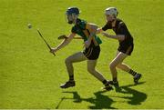 25 March 2017; Paddy Doyle of St Mary's CBGS in action against Kevin Boner of John The Baptist Community School during the Masita GAA All Ireland Post Primary Schools Paddy Buggy Cup Final game between John The Baptist Community School and St Mary's CBGS at Semple Stadium in Thurles, Co. Tipperary. Photo by Piaras Ó Mídheach/Sportsfile