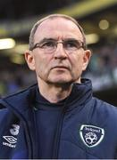 28 March 2017; Republic of Ireland manager Martin O'Neill before the International Friendly match between the Republic of Ireland and Iceland at the Aviva Stadium in Dublin. Photo by David Maher/Sportsfile