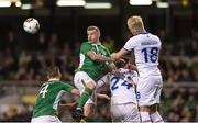 28 March 2017; James McClean of Republic of Ireland in action during the International Friendly match between the Republic of Ireland and Iceland at the Aviva Stadium in Dublin. Photo by Eóin Noonan/Sportsfile