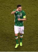 28 March 2017; Robbie Brady of Republic of Ireland after the International Friendly match between the Republic of Ireland and Iceland at the Aviva Stadium in Dublin. Photo by Eóin Noonan/Sportsfile