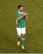 28 March 2017; Shane Long of Republic of Ireland after the International Friendly match between the Republic of Ireland and Iceland at the Aviva Stadium in Dublin. Photo by Eóin Noonan/Sportsfile