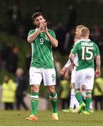 28 March 2017; Shane Long of Republic of Ireland after the International Friendly match between the Republic of Ireland and Iceland at the Aviva Stadium in Dublin. Photo by Matt Browne/Sportsfile