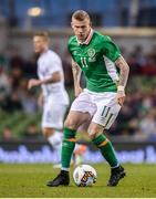 28 March 2017; James McClean of Republic of Ireland during the International Friendly match between the Republic of Ireland and Iceland at the Aviva Stadium in Dublin. Photo by Cody Glenn/Sportsfile