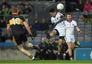 17 March 2017; Christopher McKaigue of Slaughtneil in action against Johnny Buckley of Dr. Crokes during the AIB GAA Football All-Ireland Senior Club Championship Final match between Dr. Crokes and Slaughtneil at Croke Park in Dublin. Photo by Brendan Moran/Sportsfile