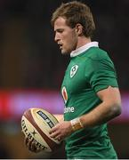 10 March 2017; Kieran Marmion of Ireland during the RBS Six Nations Rugby Championship match between Wales and Ireland at the Principality Stadium in Cardiff, Wales. Photo by Brendan Moran/Sportsfile