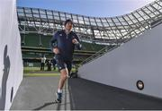 31 March 2017; Leinster backs coach Girvan Dempsey during the captain's run at the Aviva Stadium in Dublin. Photo by Ramsey Cardy/Sportsfile
