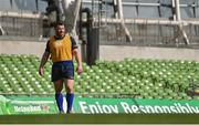 31 March 2017; Cian Healy of Leinster during the captain's run at the Aviva Stadium in Dublin. Photo by Ramsey Cardy/Sportsfile