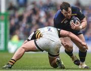1 April 2017; Cian Healy of Leinster in action against Tommy Taylor of Wasps during the European Rugby Champions Cup Quarter-Final match between Leinster and Wasps at the Aviva Stadium in Dublin. Photo by Seb Daly/Sportsfile