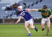 1 April 2017; Ben Conroy of Laois in action against Bryan Murphy of Kerry during the Allianz Hurling League Division 1B Relegation Play-Off match between Laois and Kerry at O'Moore Park, in Portlaoise. Photo by Matt Browne/Sportsfile