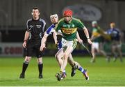 1 April 2017; Patrick Kelly of Kerry in action against Ross King of Laois during the Allianz Hurling League Division 1B Relegation Play-Off match between Laois and Kerry at O'Moore Park, in Portlaoise. Photo by Matt Browne/Sportsfile