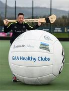 2 April 2017; GAA Healthy Club Ulster Roadshow- inspiring GAA clubs to become hubs for health.  Pictured at the GAA Ulster Healthy Clubs Roadshow is Michael Fennelly, hurler with the Kilkenny senior team. The GAA Healthy Clubs Project (HCP), in partnership with Irish Life and Healthy Ireland, aims to inspire and empower more GAA clubs to support their members and communities in pursuit of better physical, social, and mental wellbeing.  The Ulster Healthy Club Roadshow is the final part of a series of roadshows that took place across the country since January 2017. For more information about the GAA's HCP visit: www.gaa.ie/community. Follow: @officialgaa or Like: www.facebook.com/officialgaa/    GAA Healthy Club Roadshow - Ulster at Jordanstown Ulster University, in Belfast. Photo by Oliver McVeigh/Sportsfile