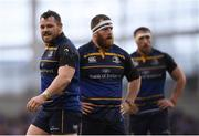 1 April 2017; Cian Healy of Leinster during the European Rugby Champions Cup Quarter-Final match between Leinster and Wasps at the Aviva Stadium in Dublin. Photo by Stephen McCarthy/Sportsfile