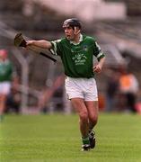 14 April 2002; Mark Keane, Limerick. Hurling. Picture credit; Brendan Moran/ SPORTSFILE