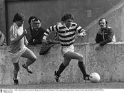 1980; Liam Buckley in action for Shamrock Rovers at Glenmalure Park, Milltown, Dublin. Soccer. Picture credit; Ray McManus / SPORTSFILE