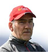 2 April 2017; Tyrone manager Mickey Harte during the Allianz Football League Division 1 Round 7 match between Kerry and Tyrone at Fitzgerald Stadium in Killarney, Co Kerry. Photo by Cody Glenn/Sportsfile