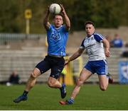 2 April 2017; Paul Flynn of Dublin in action against Fintan Kelly of Monaghan during the Allianz Football League Division 1 Round 7 match between Monaghan and Dublin at St. Tiernach's Park in Clones, Co Monaghan. Photo by Philip Fitzpatrick/Sportsfile