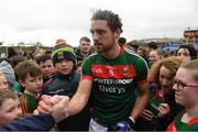 2 April 2017; Tom Parsons of Mayo following the Allianz Football League Division 1 Round 7 match between Mayo and Donegal at Elverys MacHale Park in Castlebar, Mayo. Photo by Stephen McCarthy/Sportsfile